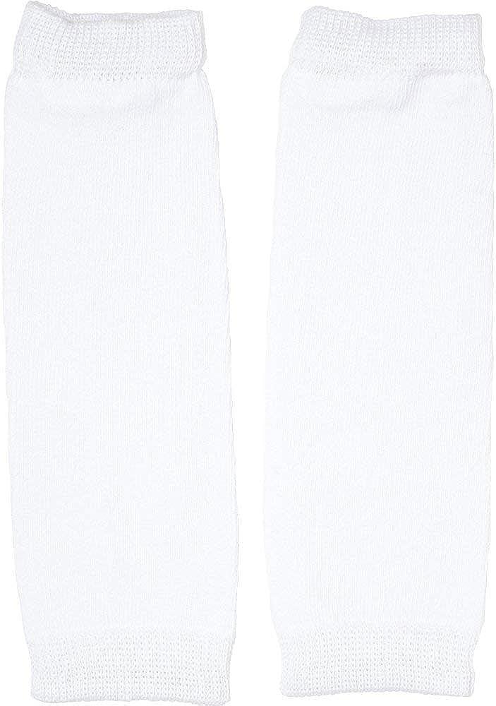 Newborn Solid White Baby Leg Warmers by juDanzy