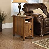 country kitchen tables for sale Sauder Carson Forge Side Table, Washington Cherry Finish