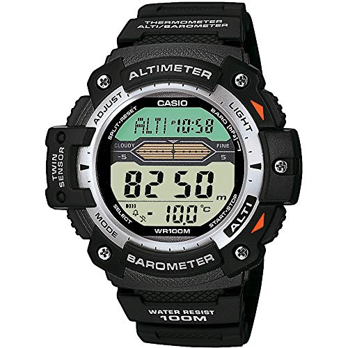 (Casio Pro Trek Gents Altimeter/Barometer Strap Watch )