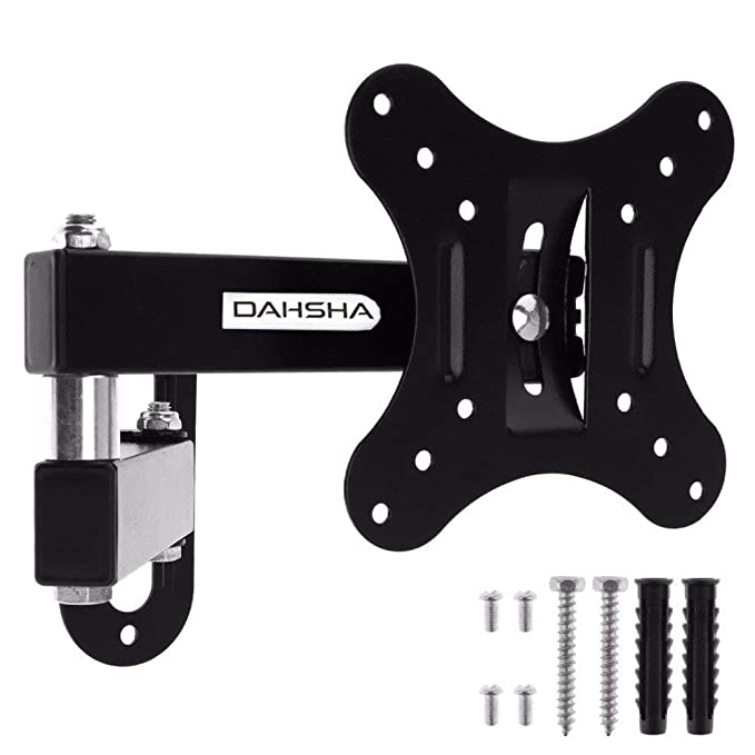 DAHSHA Heavy Duty Wall Mount Stand 180 Degree Rotatable Bracket for 12 to 32 Inch LCD LED TV TV Mounts & Stands at amazon