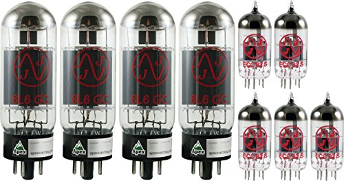 Peavey 5150 Tube Set, JJ Tubes (x4 6L6GC, x5 12AX7) by JJ Electronic