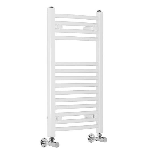 sche serviettes eau chaude 251w 700 x 400mm incurv blanc radiateur - Radiateur Salle De Bain Chauffage Central