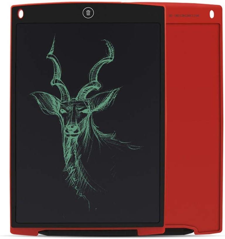 JXSBD Tableta de escritorio LCD, de 12 pulgadas tablero de dibujo electrónico parcial de doble modo de borrado, bloqueo de función de la pantalla, anti función, Oficina de la Escuela Hogar regalo