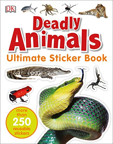 250 Snake - Ultimate Sticker Book: Deadly Animals: More Than 250 Reusable Stickers