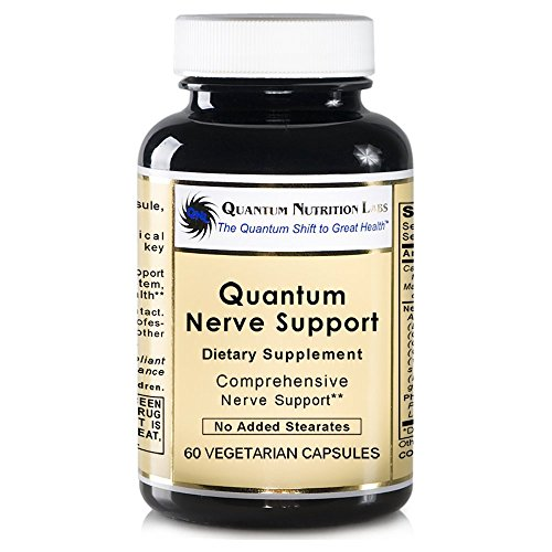 Quantum Nerve Support, 240 VCaps - 4 Bottles - Comprehensive Premier NeuroVen Support Formula by Quantum Nutrition Labs