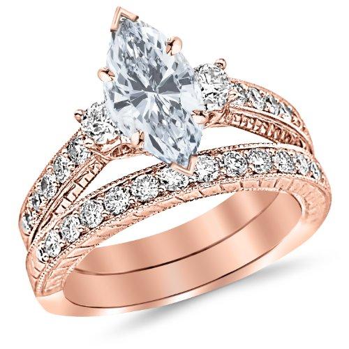 1.57 Ct Marquise Diamond - 1