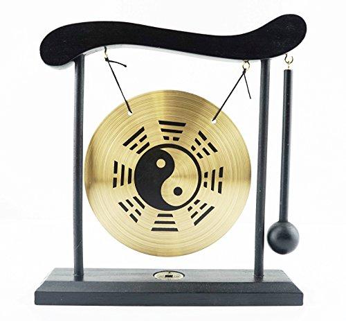 - Zen Feng Shui Desktop Gong Chime - Customerfirst - (Yin Yang)