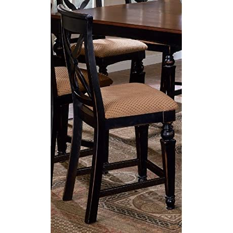 Hillsdale Northern Heights Non Swivel Counter Stool Set Of 2