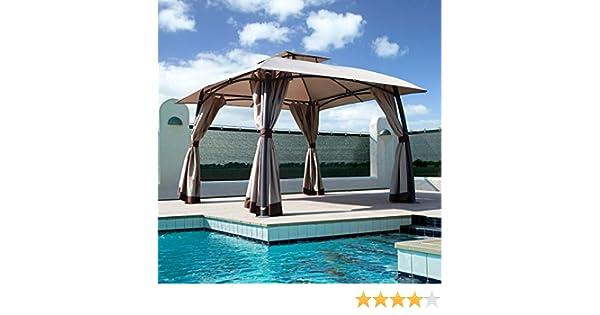 Burano Premium Pop Up Garden Gazebo 3 m x 3 m: Amazon.es: Jardín