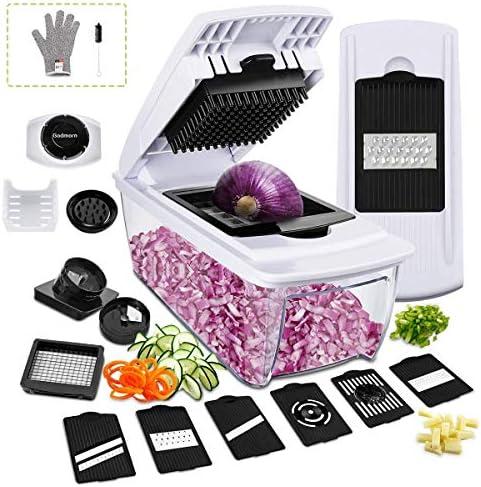 Godmorn Mandolina Verduras13 en 1 ,Slicer de Cocina Ralladores y ...