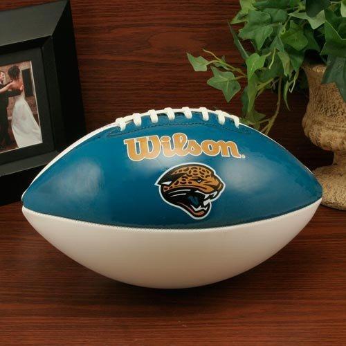 Wilson Jacksonville Jaguars Autograph Official Size Football