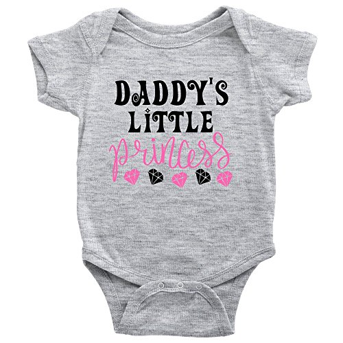 Daddy's Little Princess Adorable Daddy's Girl Baby Bodysuit