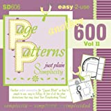 Page Patterns Vol II, Cheryl Bradbury, 1449582761