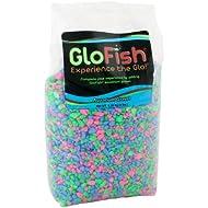 GloFish Aquarium Gravel, Pink/Green/Blue Fluorescent, 5-Pound