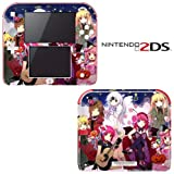 Rosario+Vampire Decorative Video Game Decal Cover Skin Protector for Nintendo 2Ds
