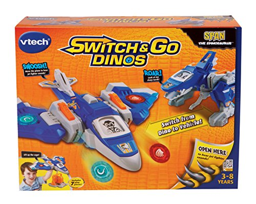 VTech Switch & Go Dinos Span the Spinosaurus Dinosaur by VTech (Image #4)