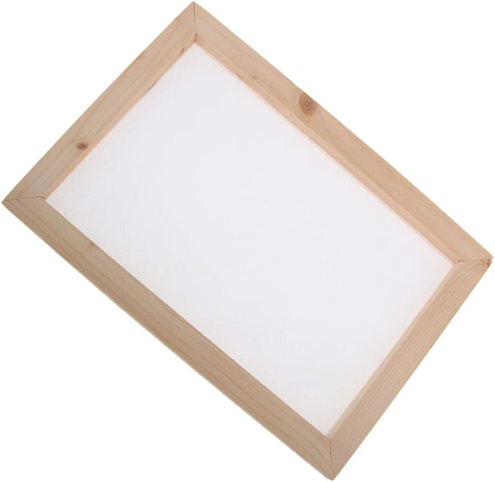 A Very Simple Way to Make Paper at Home joyMerit 3pcs Papermaking Screen Frame and Deckle and Mold Kit Supplies for Adult Children