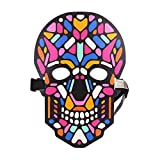 Smartcoco Frightening Halloween Cosplay Voice-activated LED Terror Mask Festival Dance Party Halloween Costumes