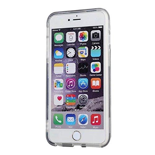 """Iphone 6 hülle,iPhone 6S 4.7 """"hülle,Lantier Dual Layer Transparent TPU + PC hartes Stoß dämpfende und Kratzschutz Abdeckung für Apple iPhone 6/6S 4.7"""" Weiß"""