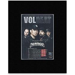 VOLBEAT - UK Tour 2014 Mini Poster - 28.5x21cm