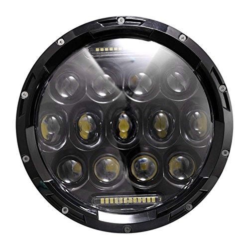 """Eshion 2x 7inch 75W 7"""" LED Headlight H4"""