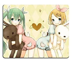 Vocaloid Hatsune Miku Kagamine Rin Cute Petit Anime Gaming Mouse Pad by mcsharks