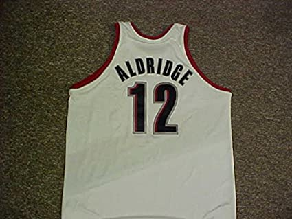 new style 0b761 21389 LaMarcus Aldridge Portland Trail Blazers Adidas Game Jersey ...