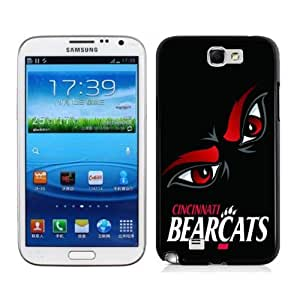 zeroCase NCAA Cincinnati Bearcats Samsung Galaxy Note 2 N7100 Hard Cover Case 2014 Style
