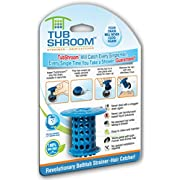 Amazon Lightning Deal 82% claimed: TubShroom The Revolutionary Tub Drain Protector Hair Catcher/Strainer/Snare, Blue
