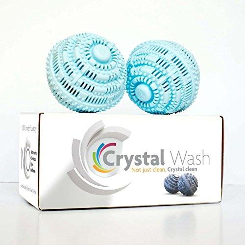 Detergent Balls (Crystal Wash - Wash Balls - Laundry Detergent Alternative - All Natural)