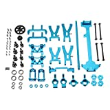 Quickbuying Wltoys A949 A959 A969 A979 K929 1/18 RC Car Spare Parts Complete Set Silver Metal Upgrade Parts