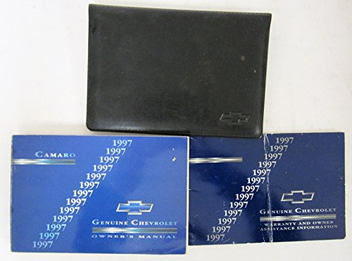 1997 Chevy Chevrolet Camaro Owners Manual