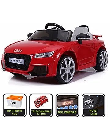 5b9be991c7a564 Cristom Voiture de Sport électrique 12V pour Enfant Audi TT RS Télécommande  2.4Ghz- Slot