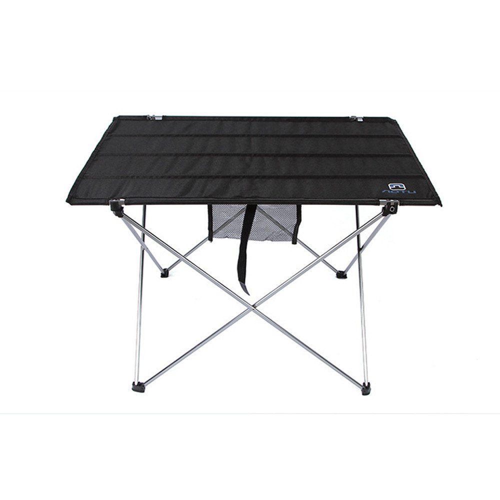 Outdoor Folding Aluminum Alloy Aablecloth Large Table by Dressffe