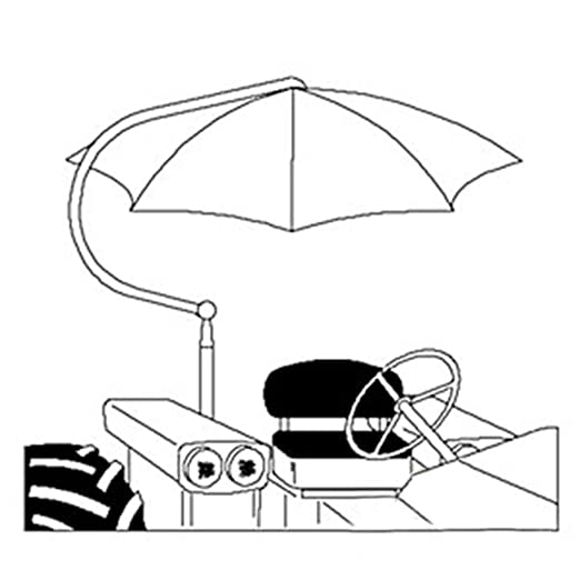 Amazon Com 6a52 Tu56y New Universal Yellow Umbrella Fits Several