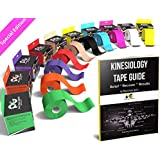 Physix Gear Sport Kinesiology Tape with Free Illustrated...