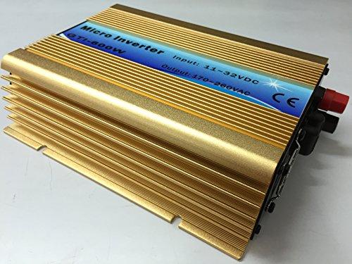 Blue color 600W grid tie solar inverter 10.8-30VDC pure sine wave power inverter by Unknown (Image #1)