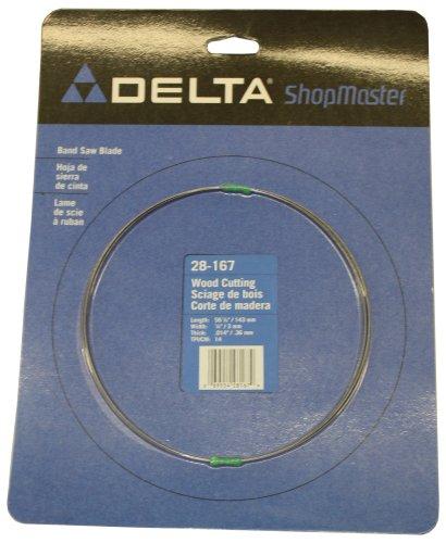 DELTA 28-167 Bench Band Saw Blade 56-1/8-Inch by 1/8-Inch, 14 Teeth per - Blades Bench Saw