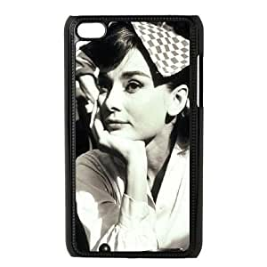 AUDREY HEPBURN Personalized Case for Ipod Touch 4, Customized AUDREY HEPBURN Case by lolosakes