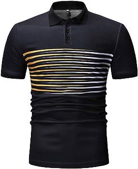 ZODOF Camisetas Hombre Verano, Ropa Deportivas Hombre, Camiseta de Manga Corta Hombre, Verano Tops Blusa Hombre: Amazon.es: Ropa y accesorios