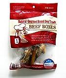 Natural Gourmet Beef Bone Dog Treats