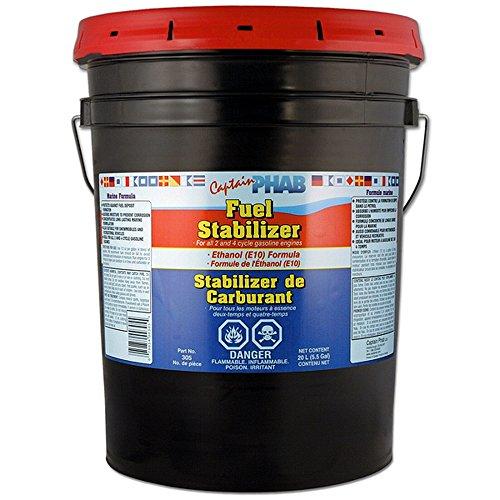 FUEL STABILIZER -Ethanol Compatible, 00305, 5.25 gallon 20L pail by Captain Phab