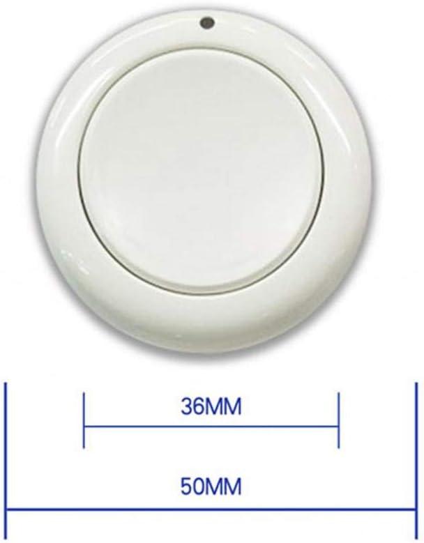 perfk 220V T/él/écommande /à Canaux sans Fil Interrupteurs /à Relais 433Mhz Syst/ème de Commutateur Momentan/é /à T/él/écommande /Émetteur R/écepteur Blanc