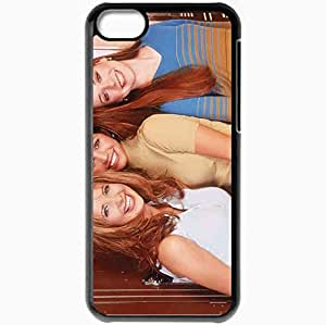 Personalized iPhone 5C Cell phone Case/Cover Skin Actress Black