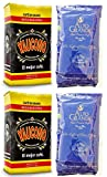 Cafe Yaucono Whole Bean Coffee and Alto Grande Whole Bean 2 Pounds Bag Each (2 Pack)