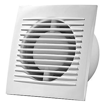 Wandventilator Badlüfter Lüfter Abluft Ventilator Küche WC Bad Ø 100 mm  EE100