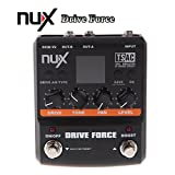 ANYSUN@NUX Drive Force Modeling Stomp Simulator Guitar Effect Pedal 10 Modeling Stompbox Models