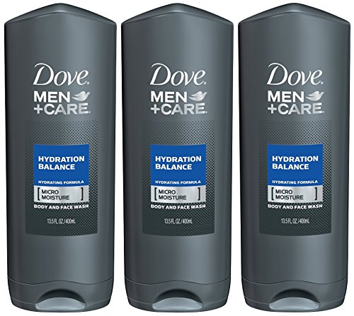 Dove Men + Care Body Wash, Hydration Balance, 13.5 Ounce(Pack of (Hydration Wash)