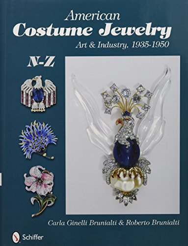 American Costume Jewelry: Art & Industry, 1935-1950, N-Z - Costume Jewelry Art
