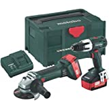 Metabo Combo Set 2.4.2 18V Cordless Drill Set by Metabo